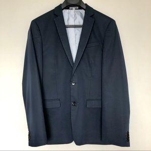 Express Navy Suit Jacket